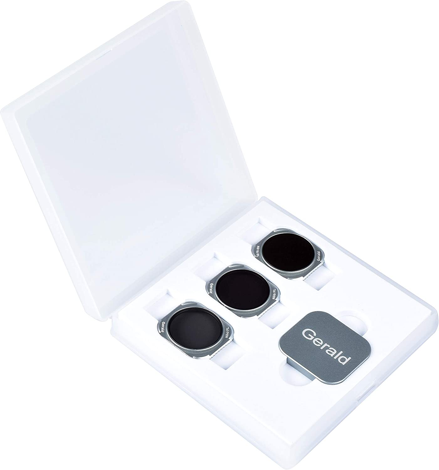 ND4, ND8,ND16,ND4//PL,ND8//PL, ND16//PL Gerald Lens ND Filters CPL Filters 6-Pack for DJI Mavic 2 II pro Latest Release Accessories Works with Gimbal Cover