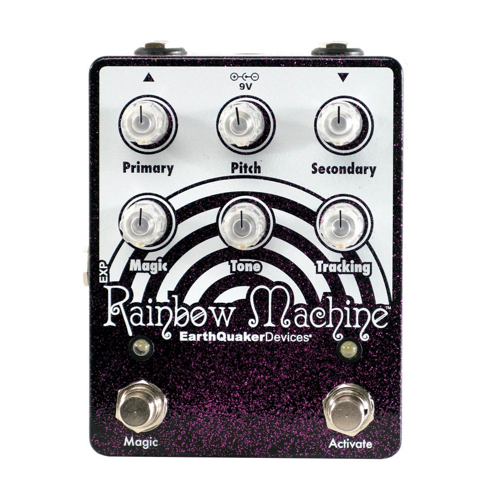 EarthQuaker Devices Rainbow Machine V2 Polyphonic Modulator (Purple Sparkle) by Earthquaker Devices