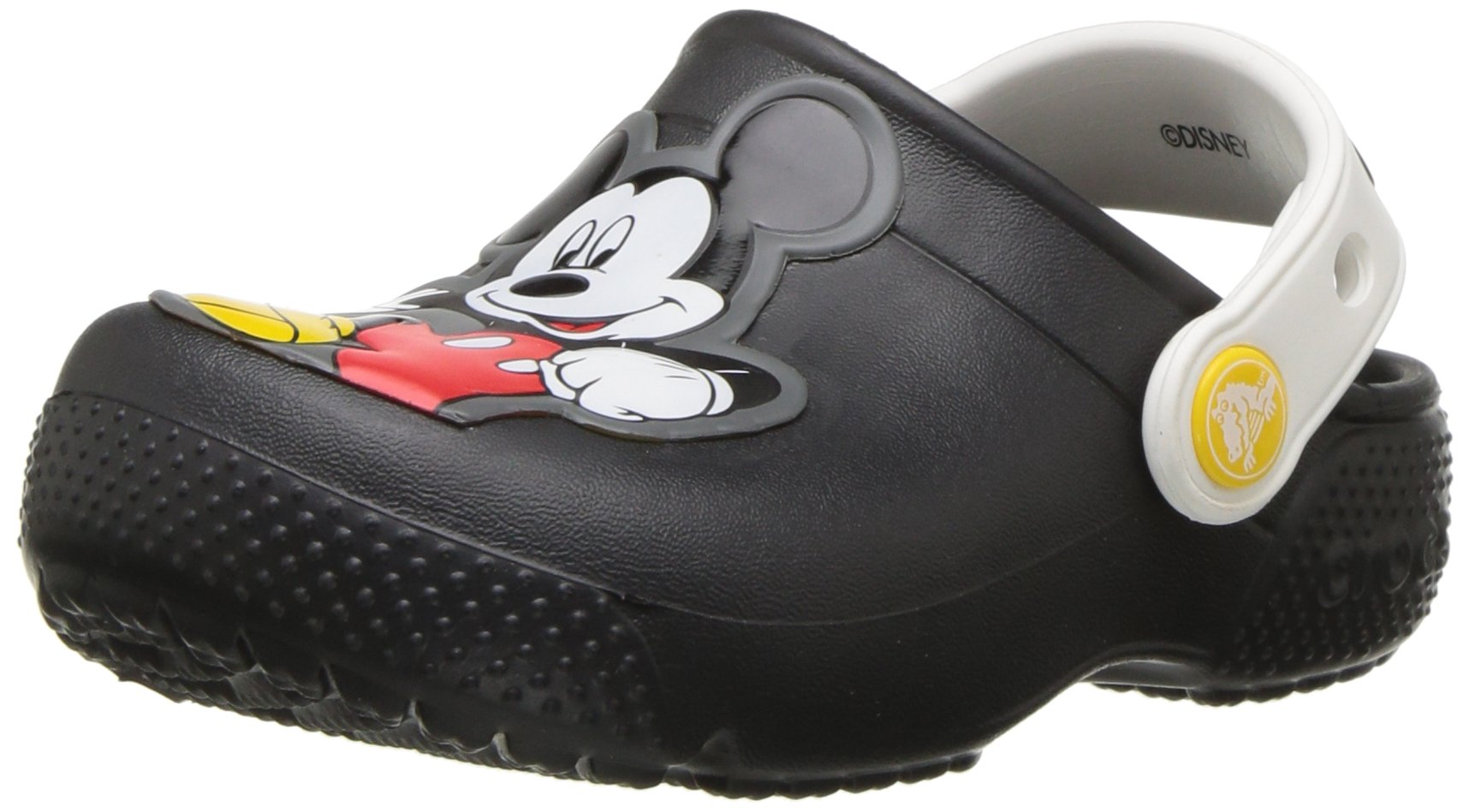 Crocs Boys' Fun Lab Mickey Clog K, Black, 5 M US Toddler
