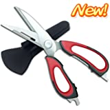 Newyes Kitchen Shears Multifunction Come-Apart Scissors for Chicken/Poultry/Fish/Meat/Vegetables
