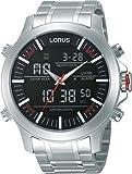 Lorus - RW601AX9 - Montre Homme - Quartz Analogique - Digital - Alarme/Chronomètre/Aiguilles/Eclairage - Bracelet Acier Inoxydable Argent