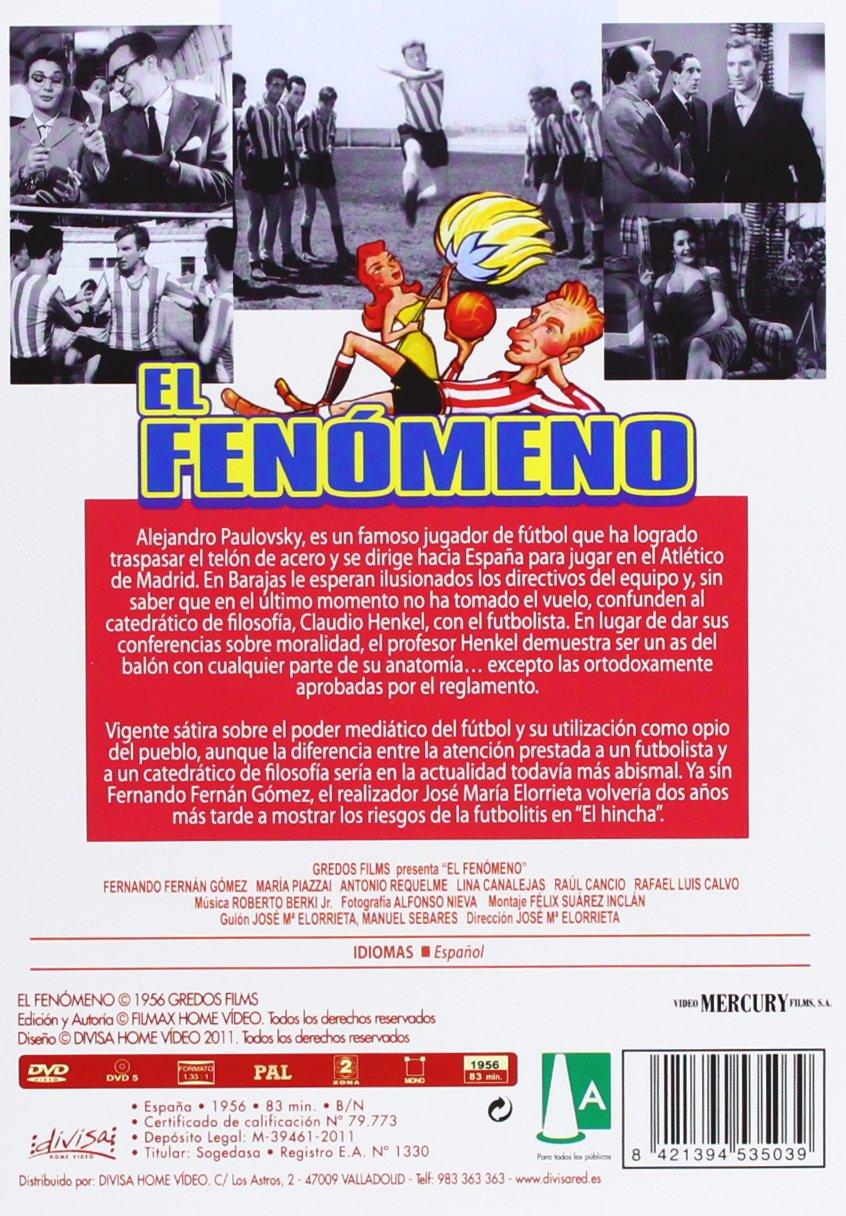El fenómeno [DVD]: Amazon.es: Fernando Fernán Gómez, Maria Piazzai ...