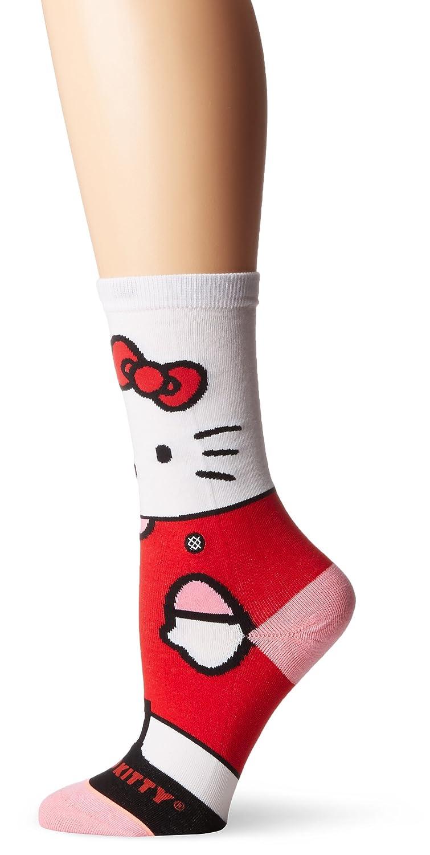 Stance womens Sanrio Hello Kitty Graphic Everyday Crew Sock Stance Women' s Socks W515A17HEL