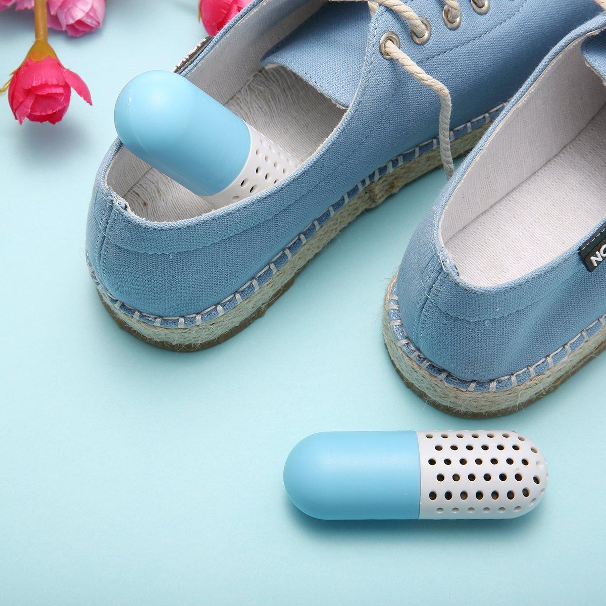 Camfosy Désodorisants pour Chaussures, Lot de 2 Déodorants Éliminateur Purificateur Absorbeur d\'Odeurs etd\'Humidité Naturel pour Chaussures Sac Tiroir Armoir Voiture GantsdeBoxe - Paquet de 2pcs