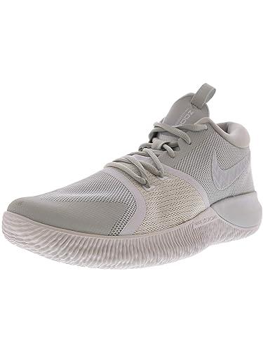 80d1dc49b640b Nike Zoom Assersion Men's Basketball Shoe, Pure Platinum/White-White Size 8  M