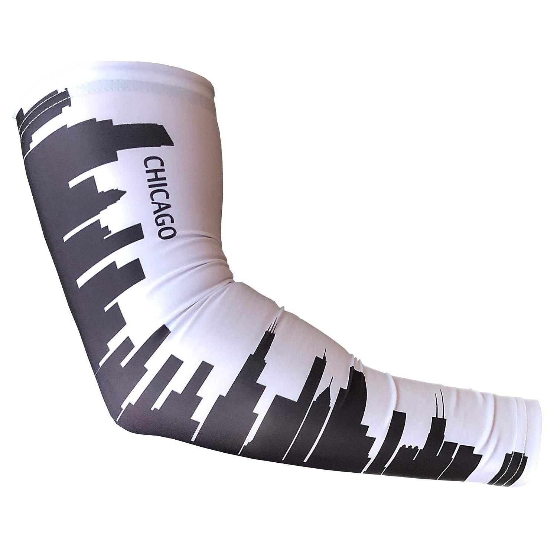 Baseball Basketball Football Unreal Sportswear Skyline Compression Armsleeve