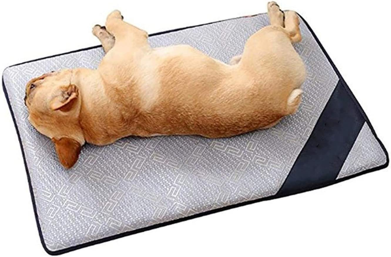 Pet Summer Cool Mat Mattress Cooling for Teddy Small and Large-Sized Dog Summer Bed Nest Cushion Supplies