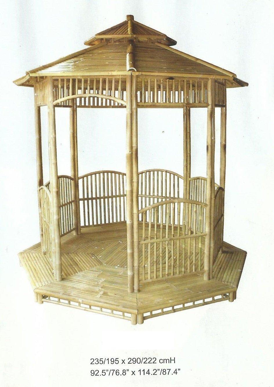 bambus pavillon gartenm bel partyzelt gazebo pavillion gartenzelt kaufen. Black Bedroom Furniture Sets. Home Design Ideas