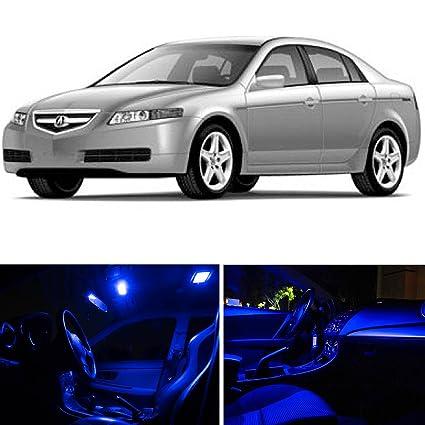 Amazoncom LEDpartsNow Acura TL Blue Premium LED Interior - Acura tl 2004 interior