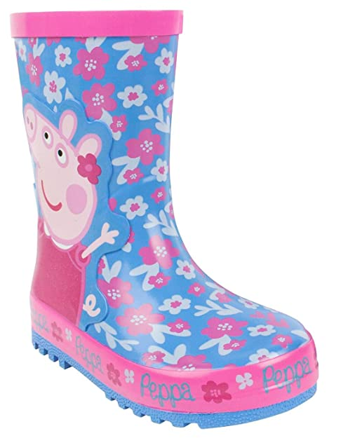 Vanilla Underground Peppa Pig Flower GirlS Wellies (4 UK Kids)
