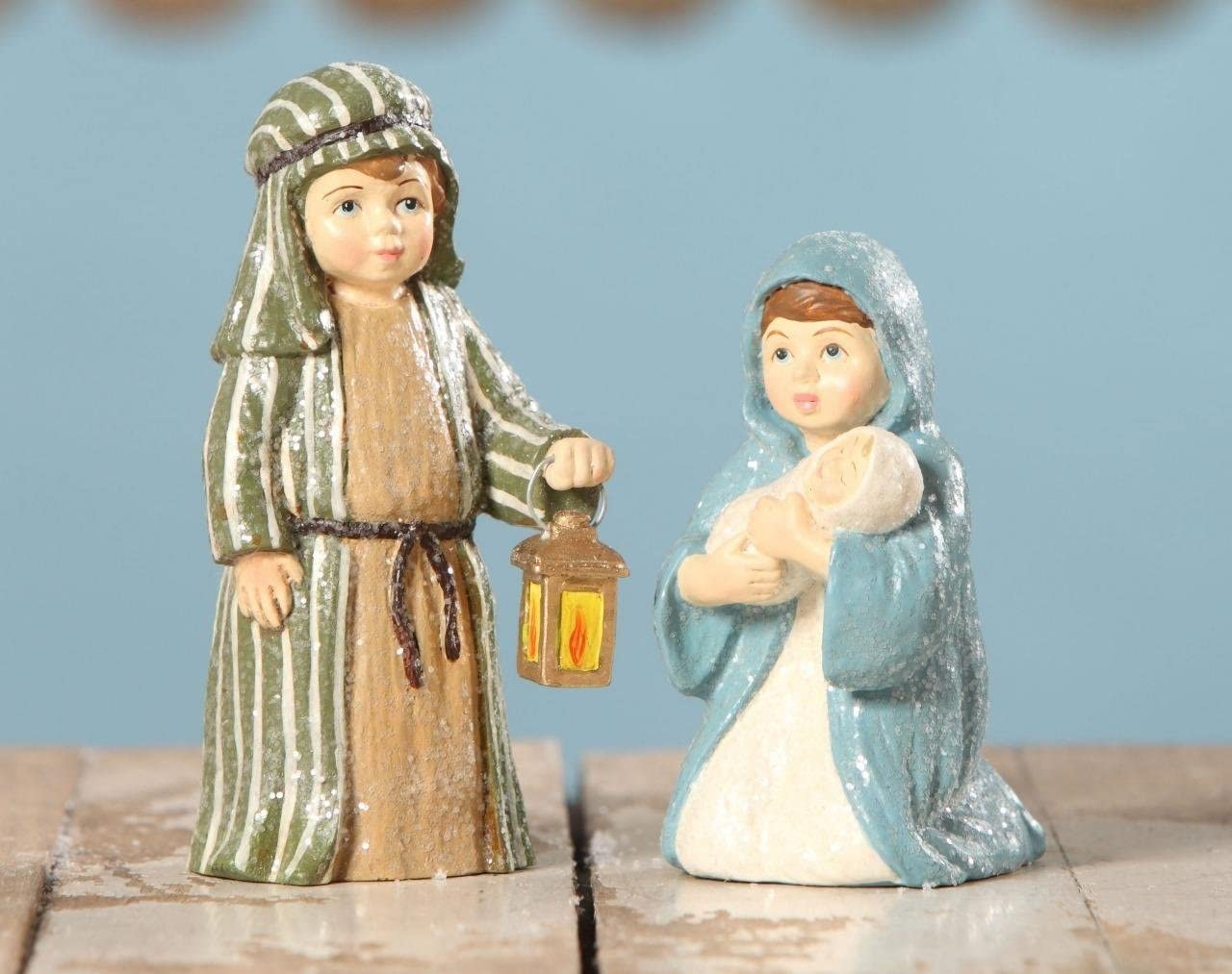 Bethany Lowe The Christmas Pageant Nativity Children Figures Three Wise Men