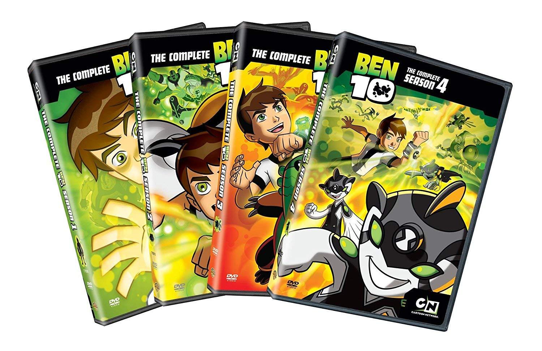 Cartoon Network: Ben 10 Seasons 1-4 (4-Pack)
