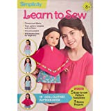 "Wrights Simplicity Learn to Sew-18, 18"" Doll Clothes"