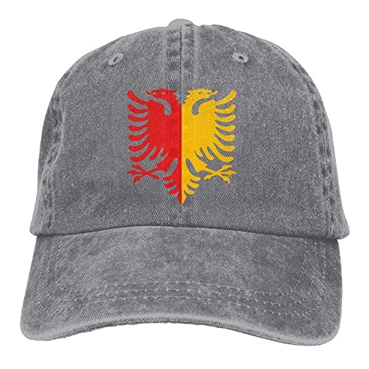 Amazon.com  Albanian Eagle Low Profile Plain Baseball Cap Vintage Washed  Dad Hat Sports Cap  Clothing e294fdf2e7e