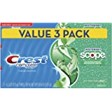 Crest Complete Whitening + Scope Toothpaste, Minty Fresh, 6.2oz Triple Pack