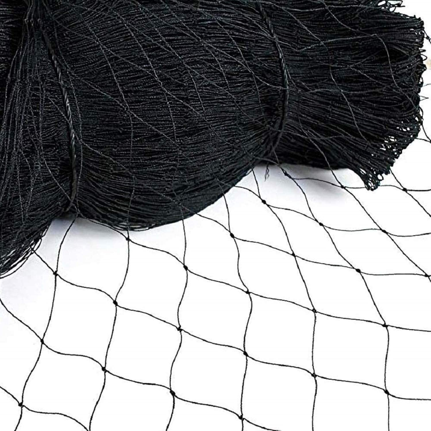 """Vosfast 50' X 50' Bird Netting for Bird Poultry Aviary Game Pens New 2.4"""" Square Mesh Size to Protect Fruit Trees Plants,Suitable for Gardens, Farms, Orchards, etc."""
