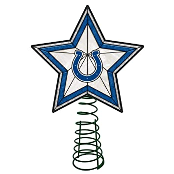 Amazon Com 10 Lighted Blue And White Star Nfl Indianapolis