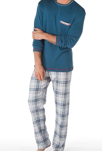 Calida Pyjama Family Time-Pijama Hombre nimes blue XX-Large