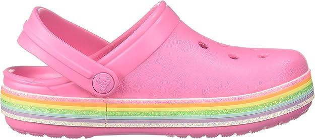 Pink Lemonade C10 M US Crocs Baby Kids Disney Princess Clog|Water Shoe for Toddlers|Girls Slip On Sandal