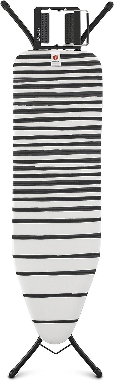 Brabantia Mesa Tabla de Planchar, Acero, Fading Lines, 124 x 38 cm: Amazon.es: Hogar