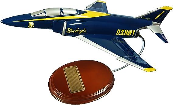 Mastercraft A-4 Skyhawk Blue Angels Scale Model 1//40 Hand carved Natural Hardwood Guaranteed Craftsmanship