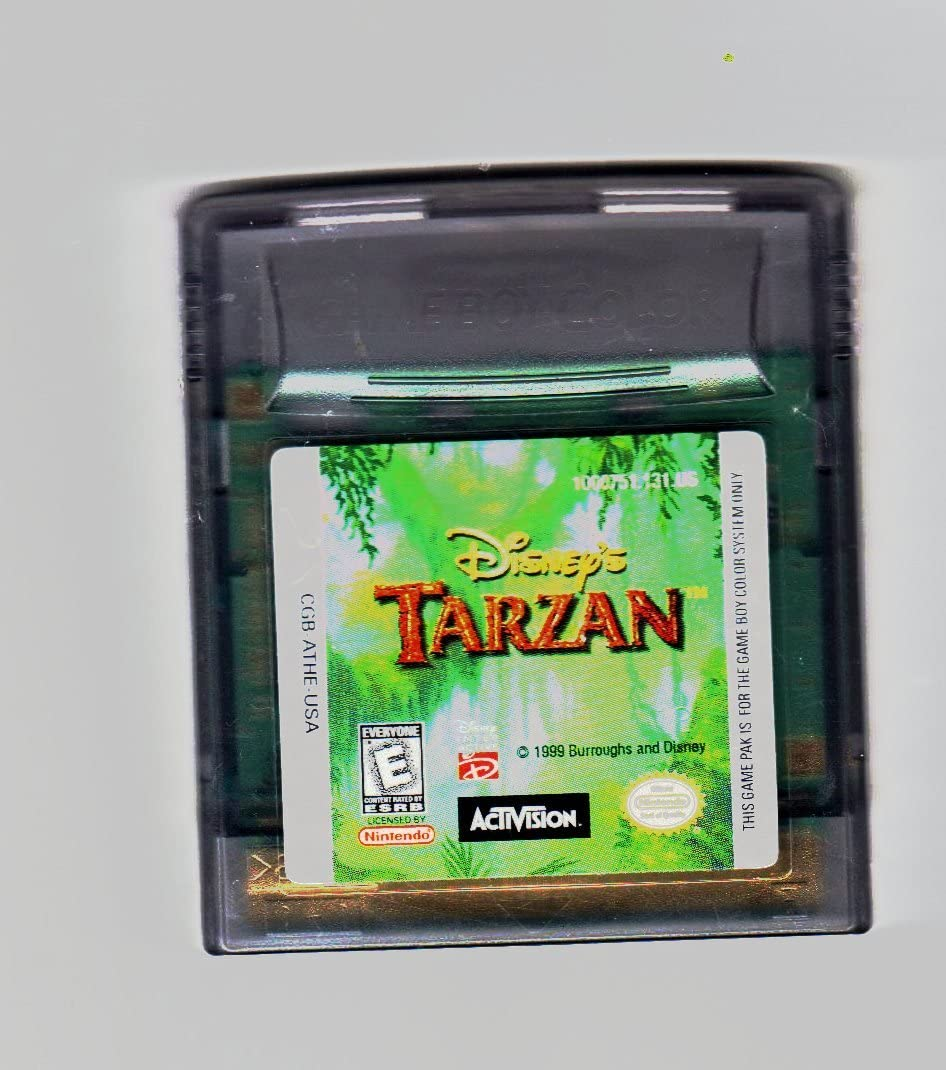tarzan game boy color