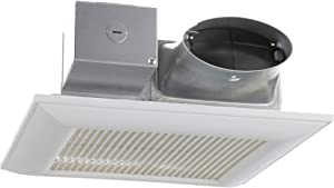 Panasonic FV-0810VSS1 WhisperValue DC Ventilation Fan with Speed Selector, Low Profile, Quiet
