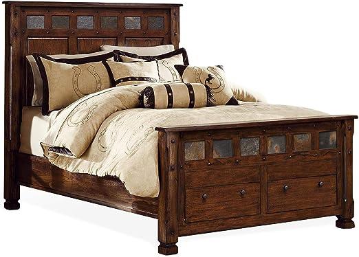 Amazon.com: Sunny Designs Santa Fe Queen Bed: Kitchen & Dining