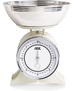 ADE KM 1500 - Báscula de Cocina (Mechanical Kitchen Scale, 8 kg, 50