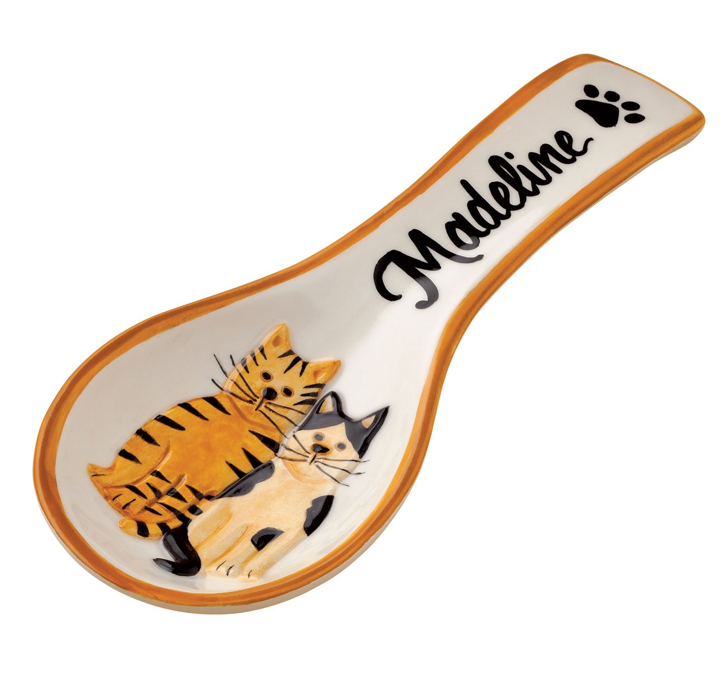 Miles Kimball Personalized Cat Spoonrest