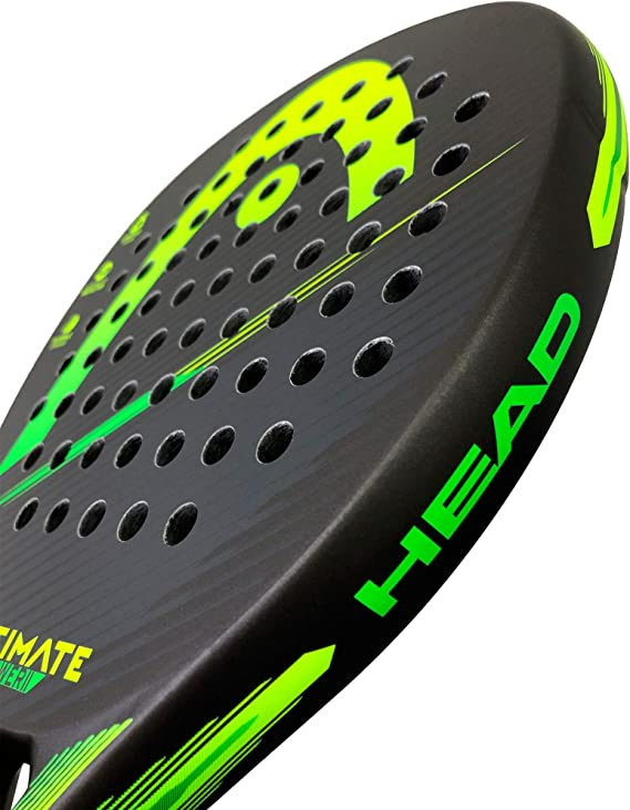 Head Pala de Padel Ultimate Power 2 Green/Yellow: Amazon.es ...