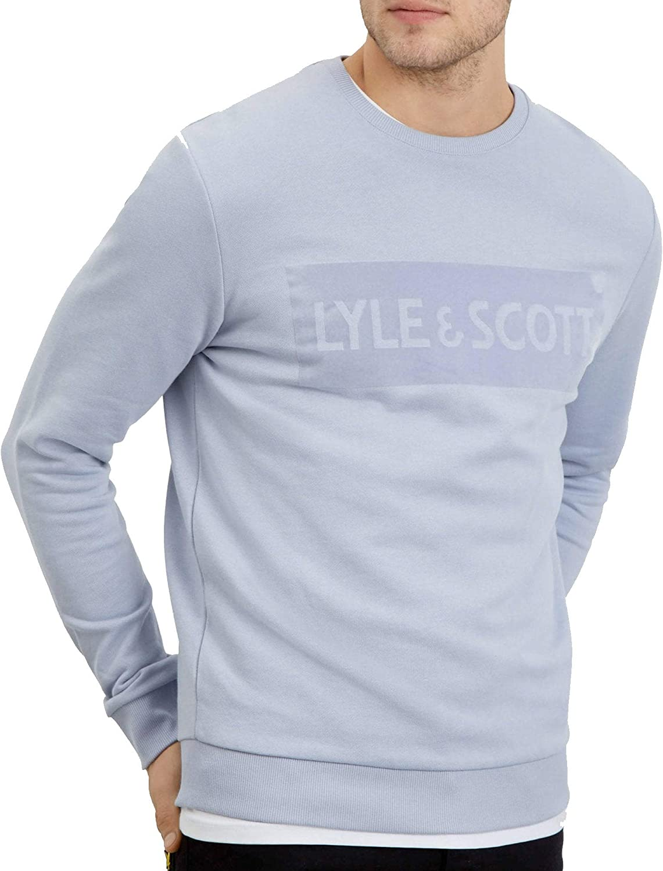 Lyle /& Scott Flock Logo Sweater