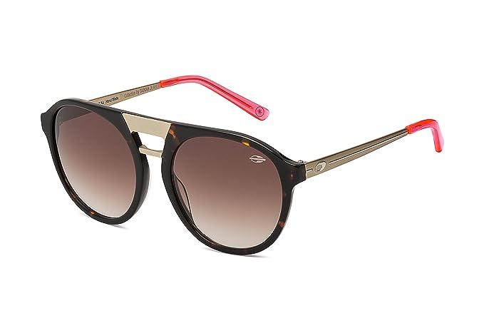 MORMAII Gafas de sol M0006 Tainah Juanuk, demi marron y metal con lentes a  espejo rosa  Amazon.es  Ropa y accesorios d946382416