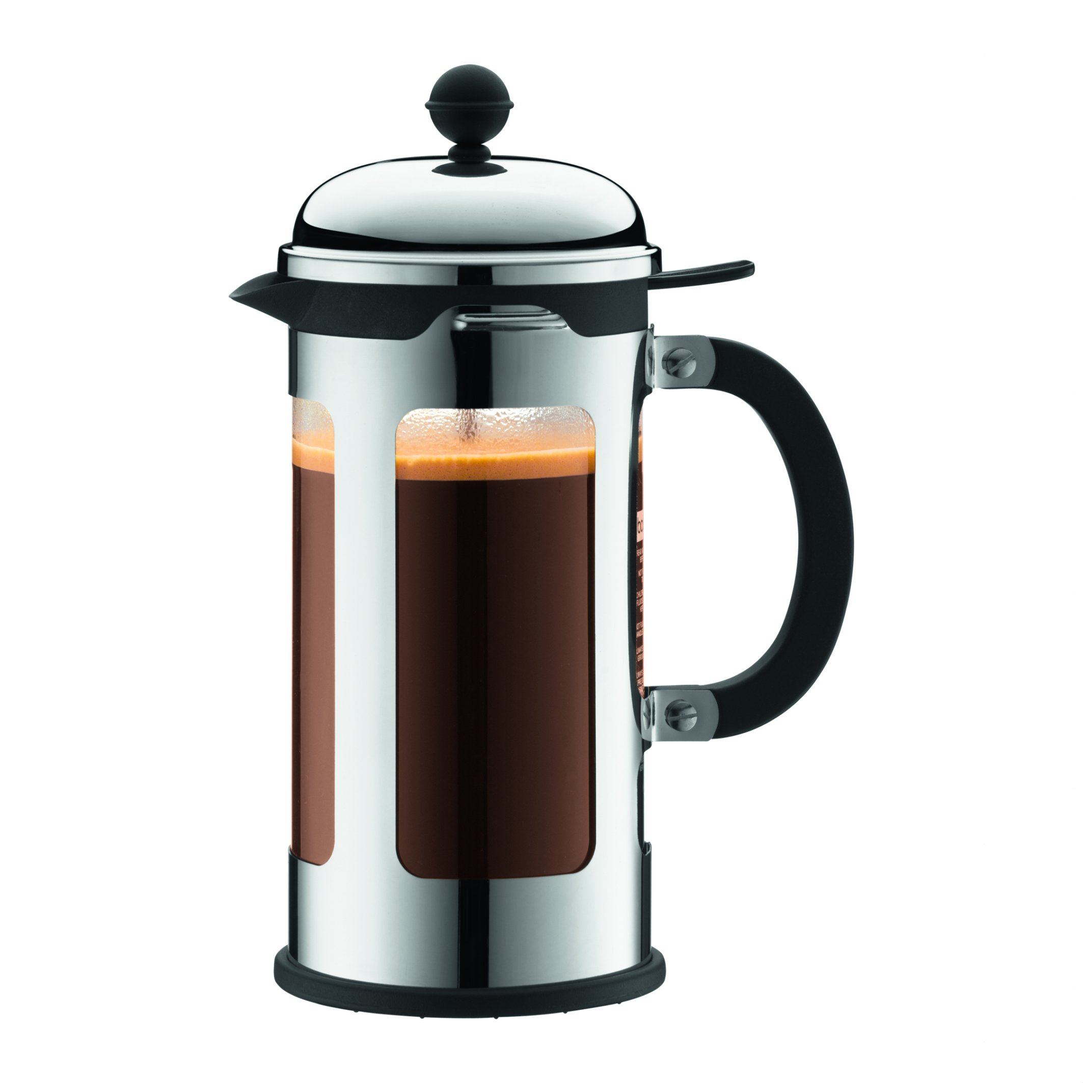 Bodum Chambord 8-Cup French Press Coffee Maker, Silver by Bodum