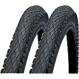 "Impac Crosspac 26"" x 2.0 Mountain Bike Tyres (Pair)"