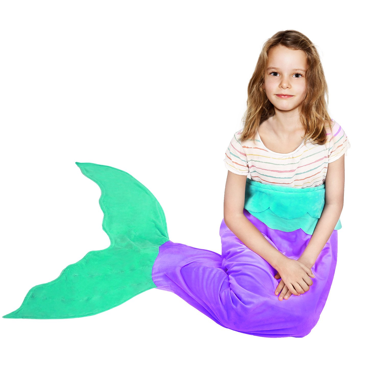 amazon com battop mermaid tail super soft blanket crystal velvet