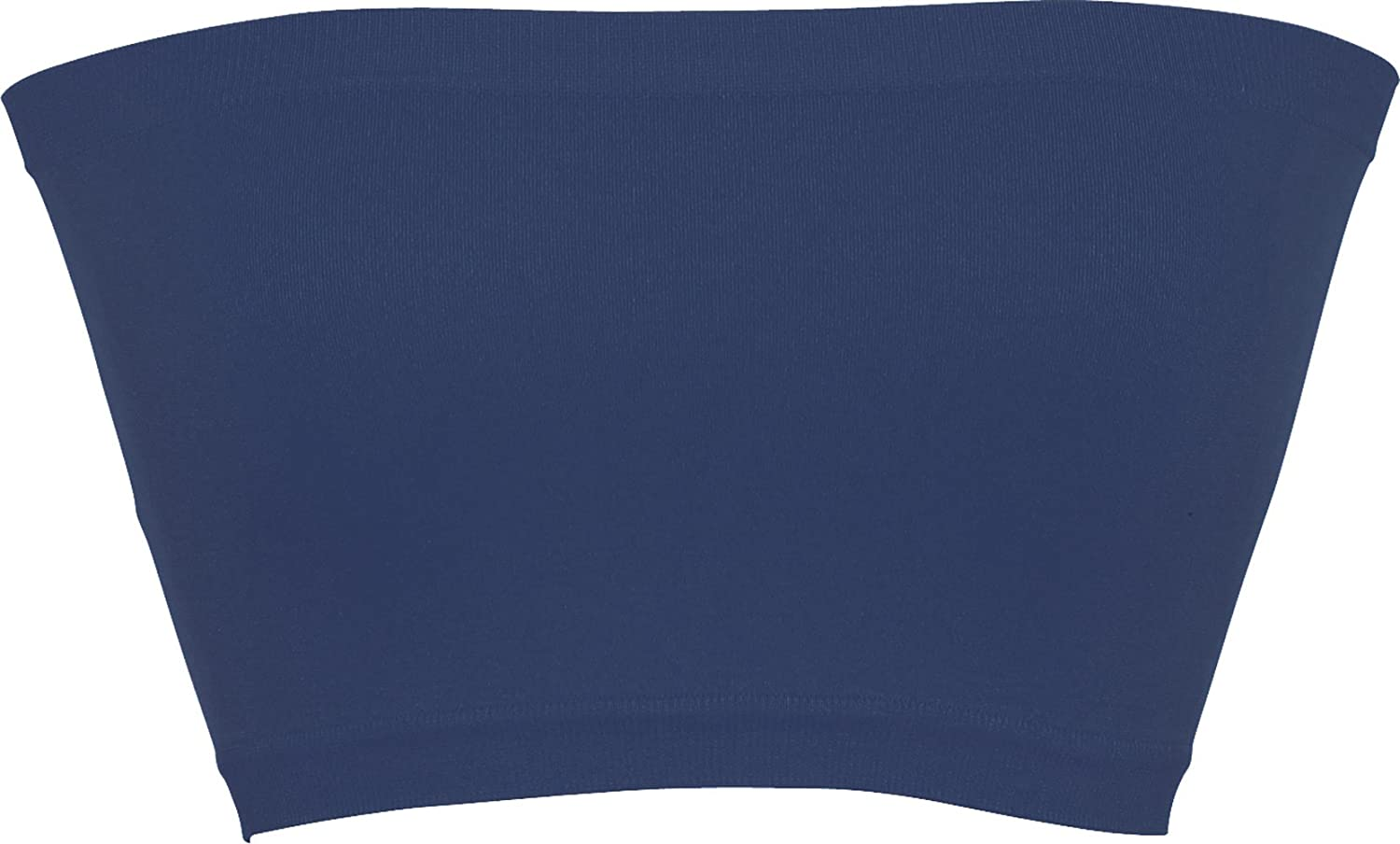PacificPlex Seamless Smoother Tube Bandeau Top One Size Royal-Blue