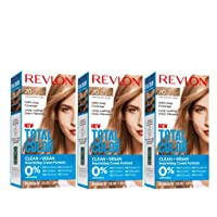 Revlon Total Color Hair Color, Clean and Vegan, 100% Gray Coverage Hair Dye, 70...