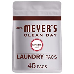 Mrs. Meyer's Laundry Pacs, Lavender, 45 CT