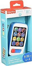 Fisher-Price Ríe y Aprende Smartphone de Aprendizaje, Azul