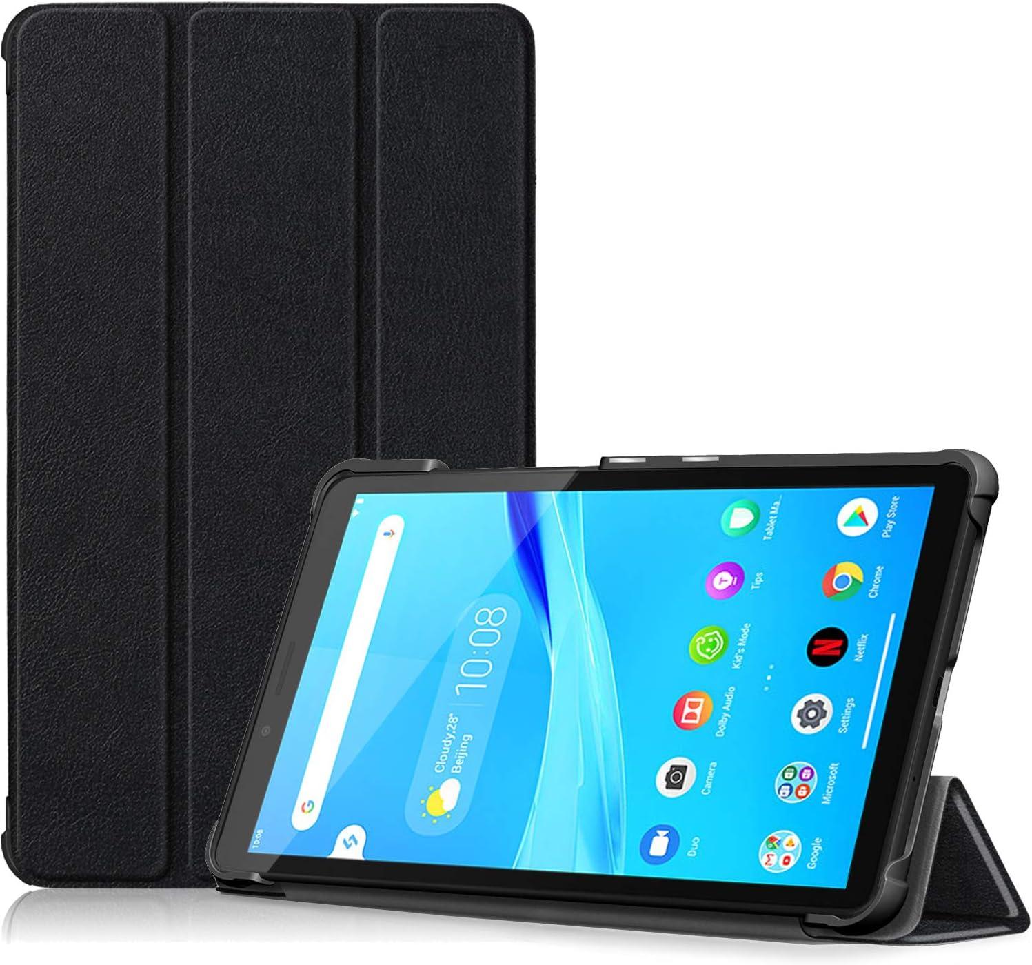 "ProCase Lenovo Tab M7 Case TB-7305F 2019, Slim Lightweight Stand Hard Shell Case Protective Cover for 7"" 2019 Lenovo Tab M7 (2nd Gen) Tablet TB-7305F TB-7305L TB-7305X -Black"