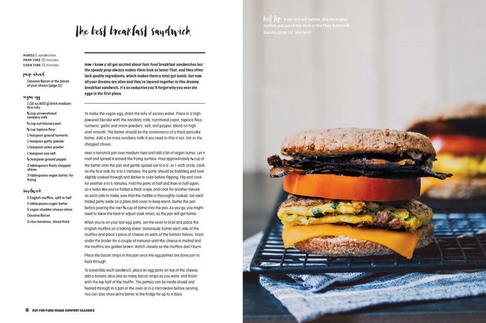 Hot for Food Vegan Comfort Classics: 101 Recipes to Feed