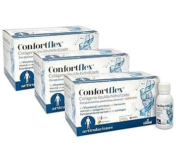 Colalgeno Hidrolizado + Curcuma, Glucosamina, condroitina, vitamina C y vitamina B-5-15 Viales de 30 ml. (3 Unidades): Amazon.es: Salud y cuidado personal