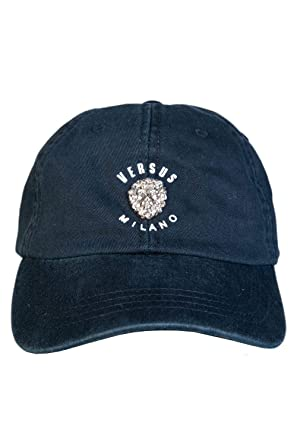 6ce5b649da88 Amazon.com: Versace Mens Hat/Cap BUC0040 BT10524 Size ONE Size Black ...