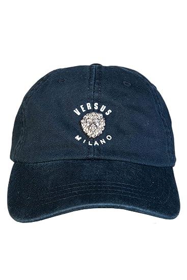 Amazon.com  Versace Mens Hat Cap BUC0040 BT10524 Size ONE Size Black ... 9bf1745c9665