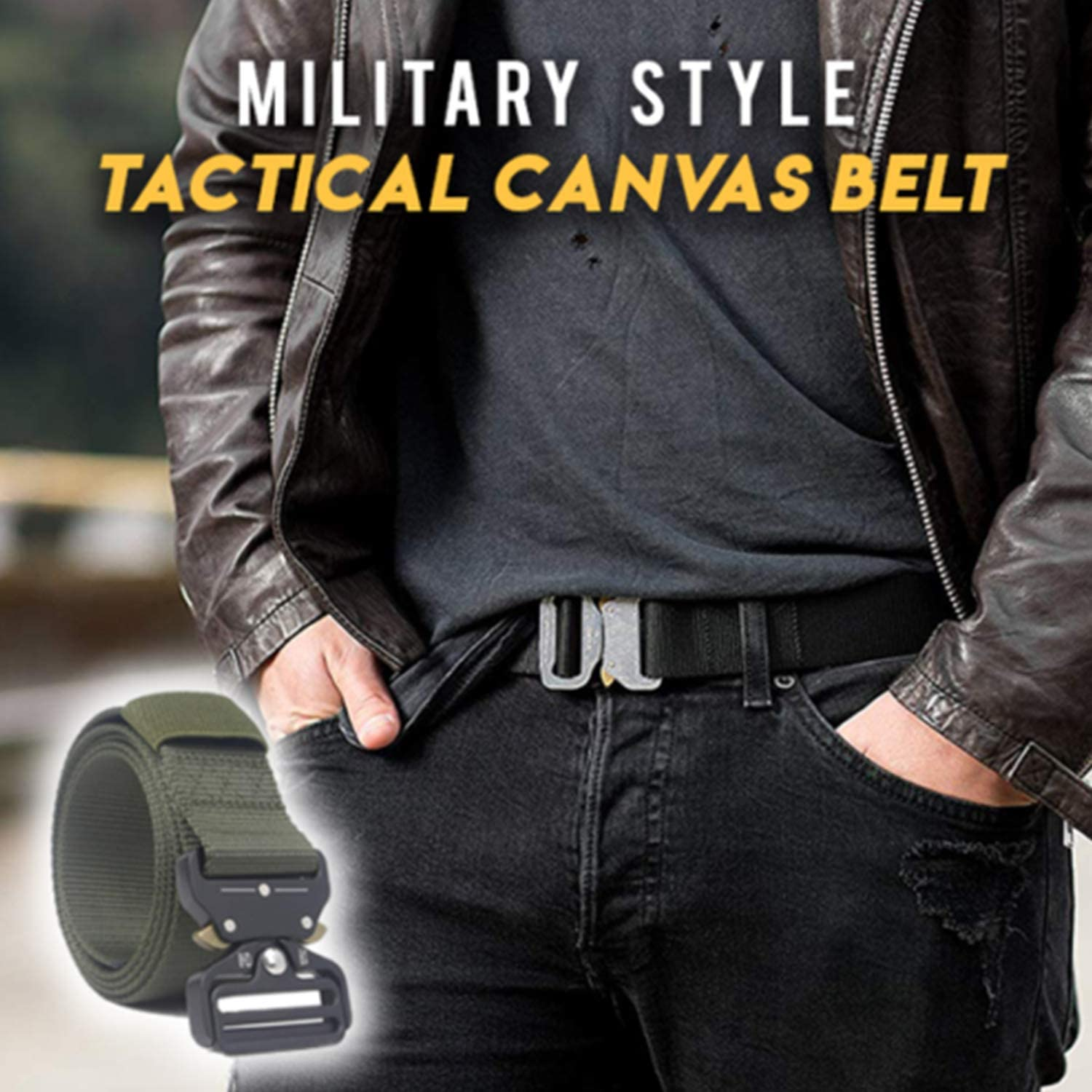 Beette 2019 Tactical Military Canvas Belt