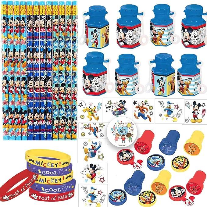 Amazon.com: Mickey Mouse Paquete de regalo de fiesta de ...