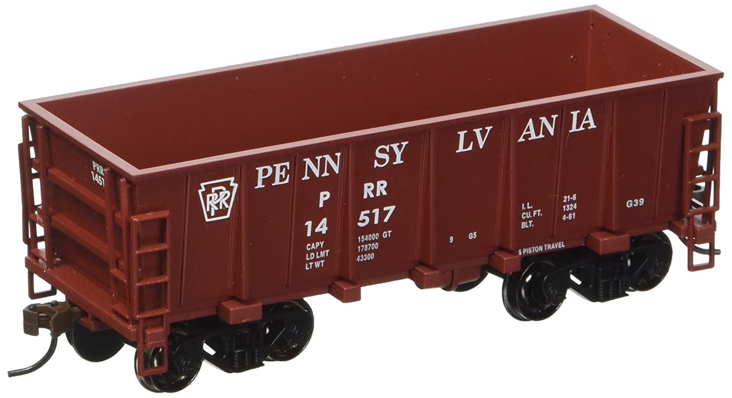 Bachmann Industries #14517 Pennsylvania Tuscan Red Ore Car (HO Scale Train) Bachmann Industries Inc. 18605