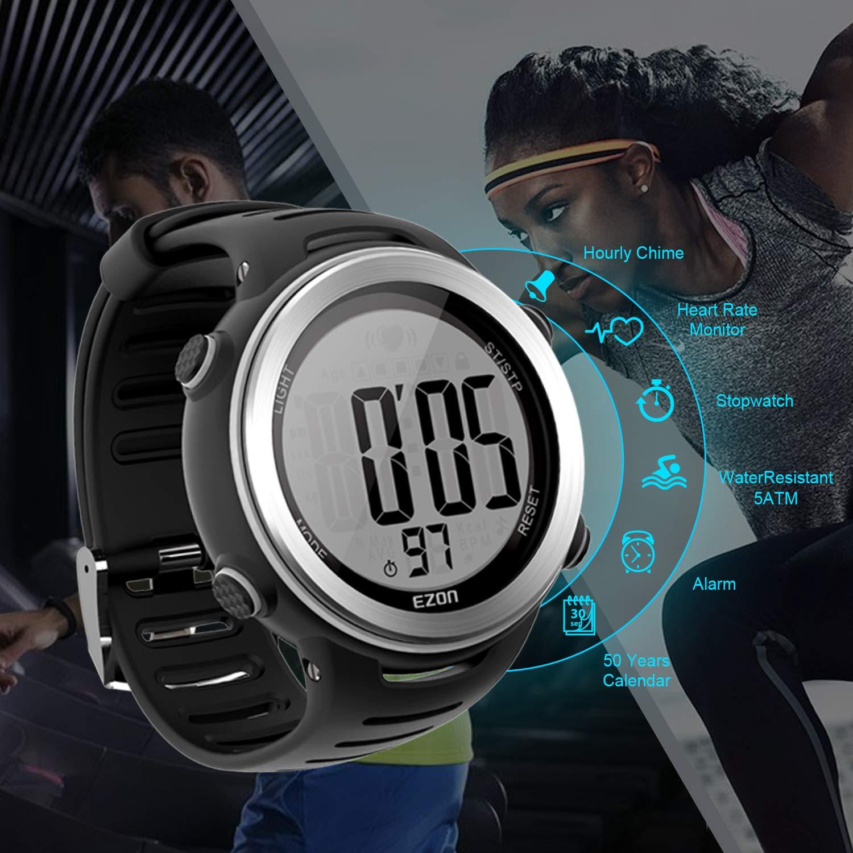Amazon.com: EZON HRM Tech correa de pecho deportes ...