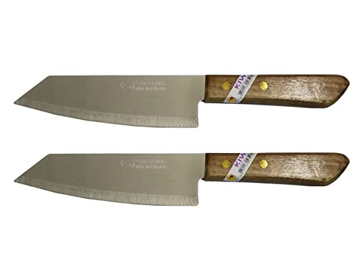 Juego de 2 cuchillos de acero inoxidable flexible de la ...